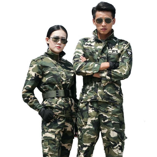 Good Price $28.40, Buy Tactical US army combat uniforms men SWAT woodland military clothing Camouflage suits sets Outdoor airsoft Exercito,Jacket+Pants