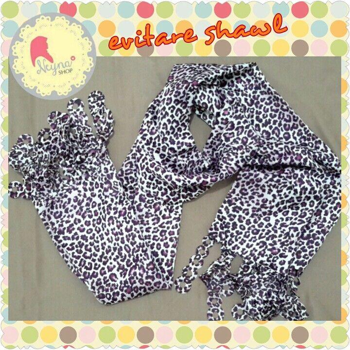 Shawl leopard Cantik dan mudah digunakan Line neynashop Wa 081273235807