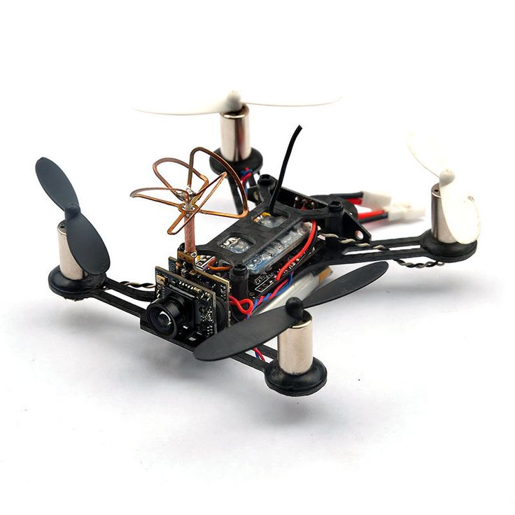 Eachine minuscule qx95 95mm micro fpv LED course quadcopter basé sur F3 EVO contrôleur de vol brossé Vente - Banggood.com