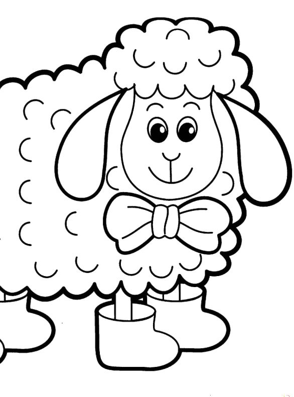 A Very Cute Little Dog Coloring Page Pages Sketch Coloring ...