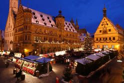 Rothenburg ob der Tauber -Mercado de Navidad