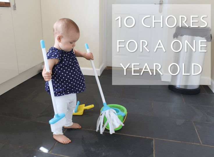 10 CHORES FOR A ONE YEAR OLD - Get your toddler to help with the cleaning and the housework from an early age to help with motor skills and life skills! These chores are fun and won't make extra work for adults. http://www.lifeunexpected.co.uk A parenting and lifestyle blog.