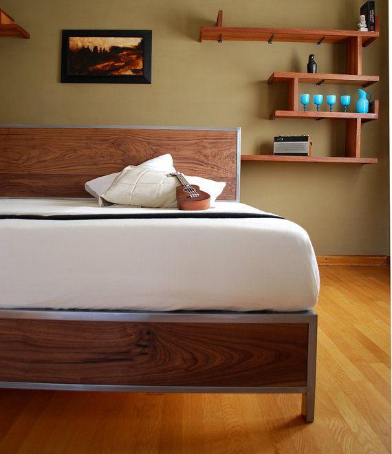 M s de 25 ideas incre bles sobre camas met licas en - Cama king size ikea ...