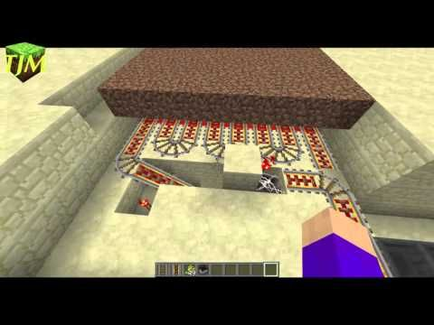 Automatische Melonenkürbis Farm Minecraft Youtube Minecraft