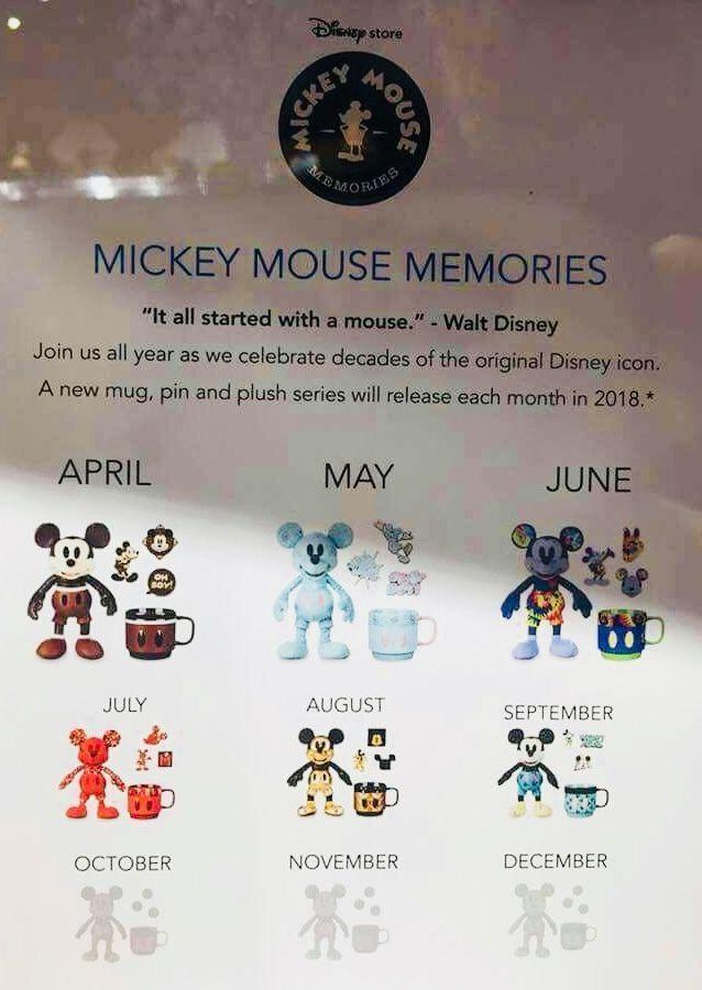 Mickey Mouse Memories - April - September 2018 | DISNEY - Mickey ...