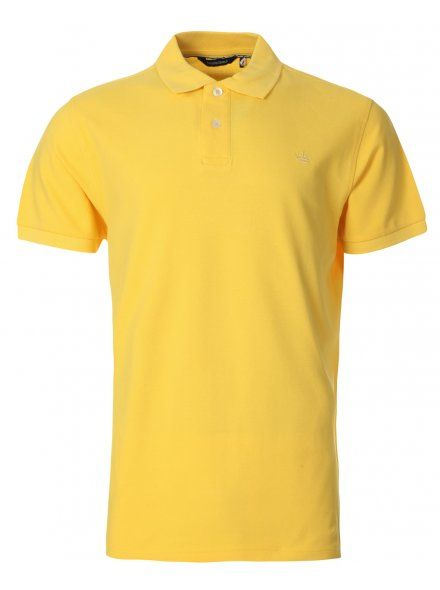 Twisted Soul Mens Yellow Polo Shirt