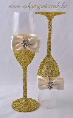Arany glitteres