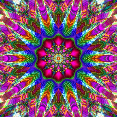 Rainbow Plasma Kaleidoscope | Flickr - Photo Sharing!