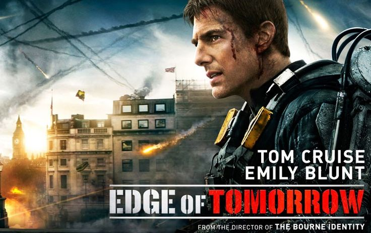 Edge of Tomorrow (2014) Movie Review. Image source: edgeoftomorrowmovie.com. Doug Liman's Edge of Tomorrow (2014) is a non-stop alien-invasion thrill-ride with comparable similarities between Groundhog Day (1993), The Matrix (1999), Avatar (2009) and Saving Private Ryan (1998). Unlike the four mentioned films, Edge of Tomorrow (2014) unfortunately brings nothing new 'nor leaves any type of memorable contribution to the art of movie-making.