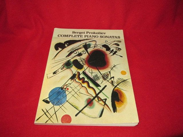 """Sergei Prokofiev """"Complete Piano Sonatas"""" by TheBookE on Etsy"""