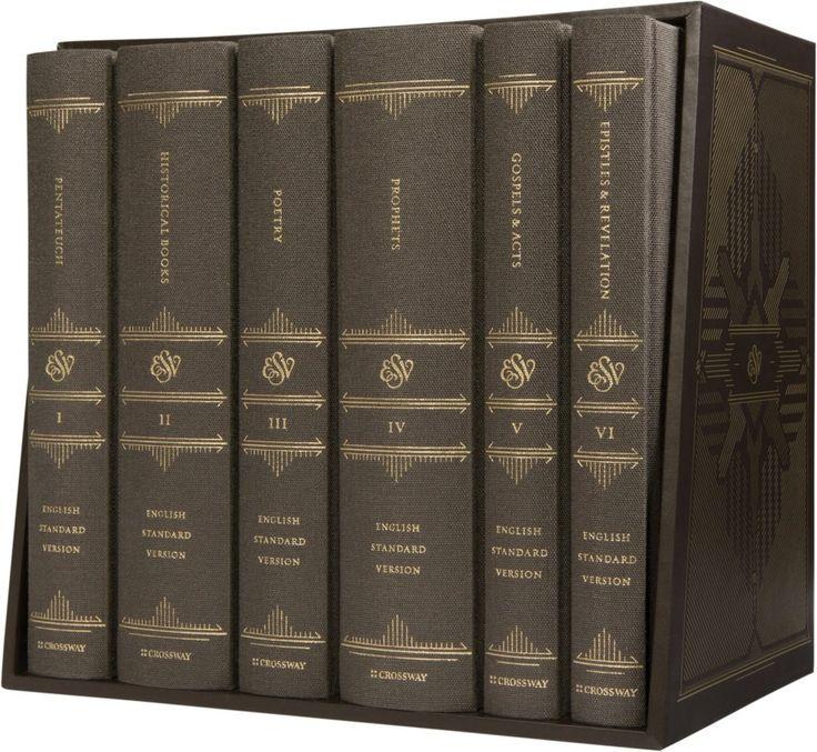 Win a FREE 6-Volume [ESV] Reader's Bible Set