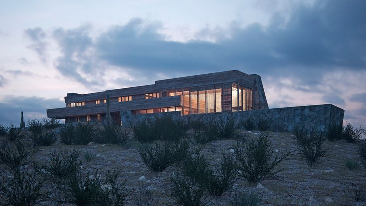 Architect David Romero uses 3D visualization to recreate destroyed or unbuilt Frank Lloyd Wright buildings.