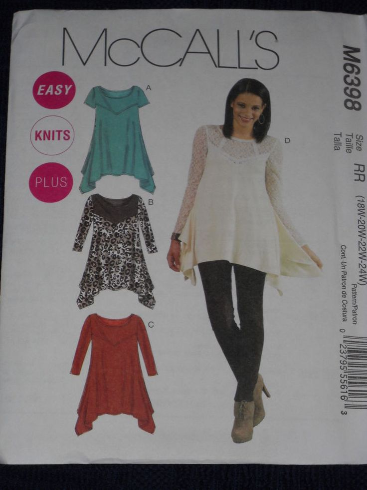 Knitting Patterns Plus Size : Best images about sewing plus size patterns and ideas