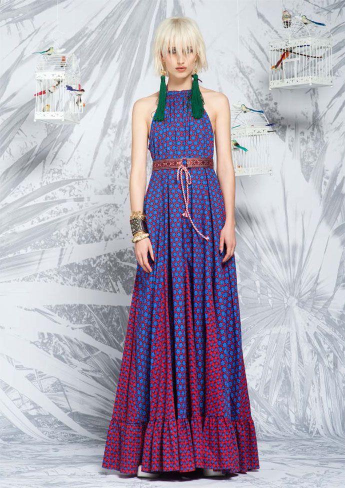 greek fashion designer Alexandra Katsaiti Let's go wild SS15 collection