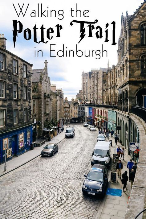 A review of the Potter Trail walking tour: Real-life locations in Edinburgh, Scotland that inspired the Harry Potter series!