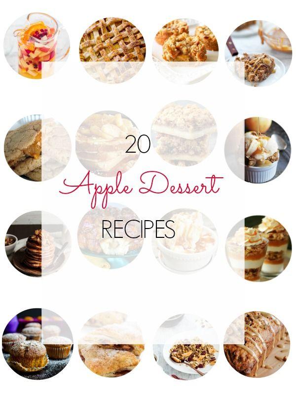20 Apple Dessert Recipes - Ioanna's Notebook