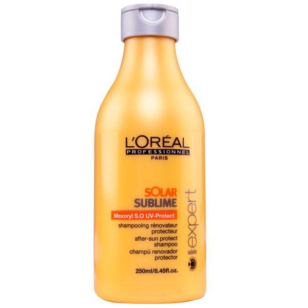 Loreal Profissional Solar Sublime Shampoo - Loreal Profissional Solar Sublime: - Doce Beleza