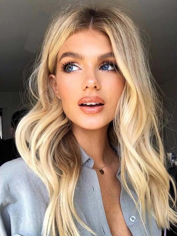 Gorgeous Buttercream Blonde Hair Color Ideas for 2018