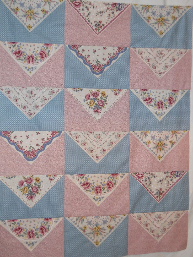 Celtic Heart Knitting And Quilting Hankie Quilt In The