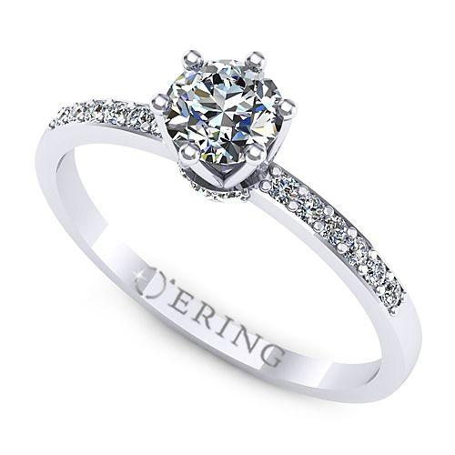 Inel logodna L125ADI inel cu diamant