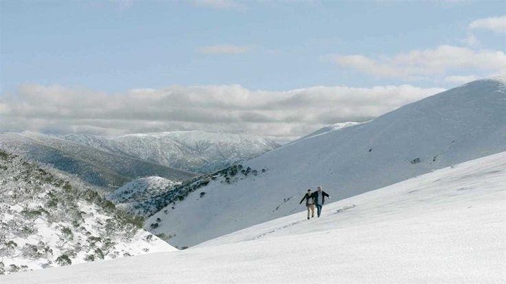 Wander Victoria. Razorback Ridge, High Country, Victoria, Australia