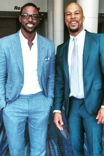 Lance Gross and Common