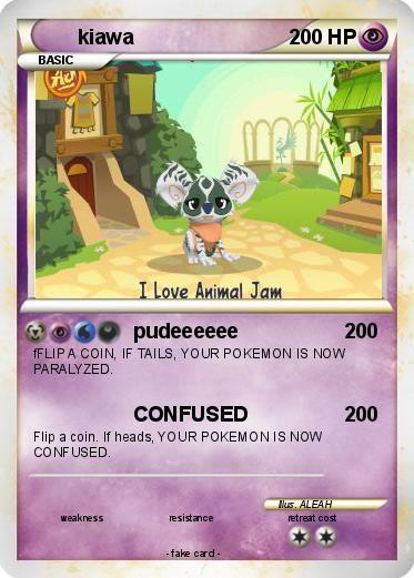 My pokemon card i made on my poke card .com.