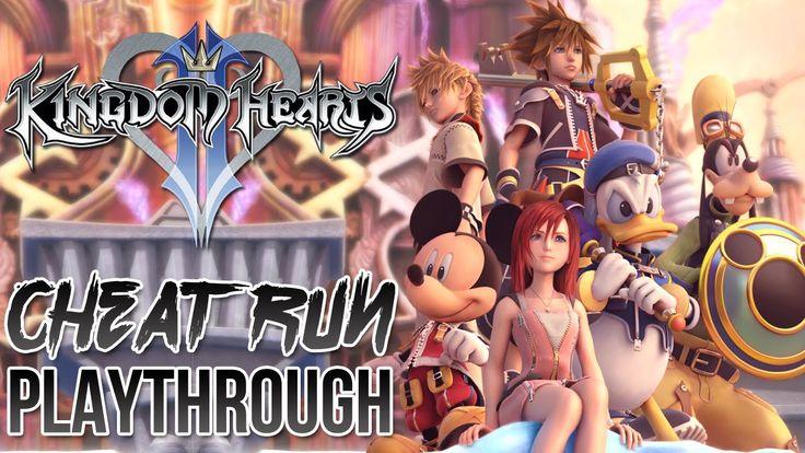 Kingdom Hearts 2 Final Mix Cheat Run Full Playthrough