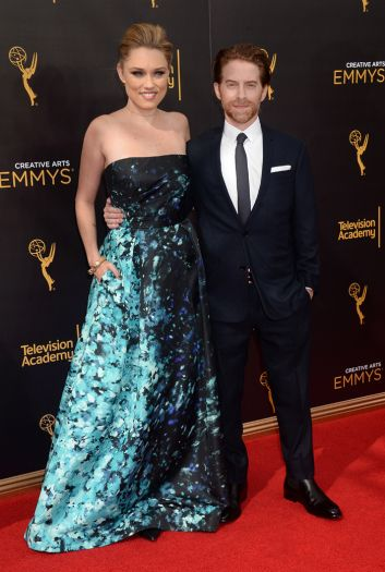 Clare Grant and Seth Green - 2016 Creative Arts Emmys