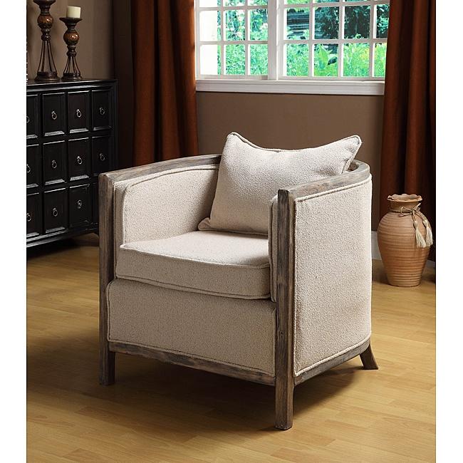 Best Modern Rustic Accent Chair Restoration Hardware Esque 400 x 300