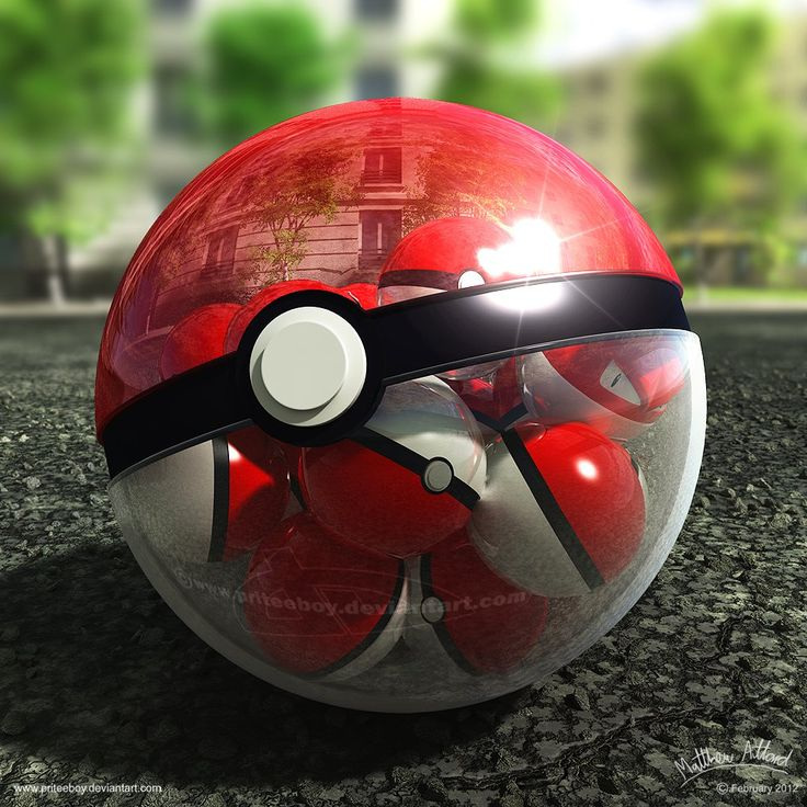 Pokeball of Pokeballs - http://digitalart.io/pokeball-of-pokeballs-by-priteeboy/