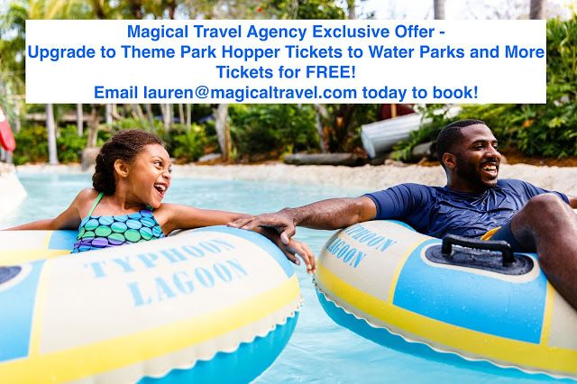 Magical Travel Agency Exclusive Offer - when you book your Walt Disney World Summer vacation with at least 3-days of theme park hopper tickets, we will upgrade your tickets to the Water Parks and more option for FREE! Email me, lauren@magicaltravel.com to book this deal today! (Yes, you can combine this offer with existing Walt Disney World offers!)  #Disney #DisneyVacationPlanner #TravelAgent #MagicKingdom #Epcot #HollywoodStudios #AnimalKingdom #WaterParks #Summer #SummerVacation