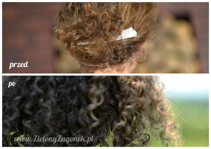 Detoks włosów   Zielony Zagonek