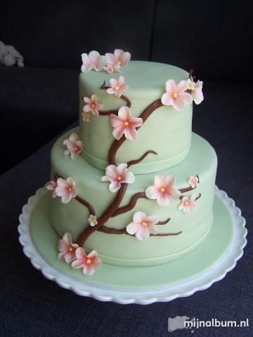 End of year celebration cake