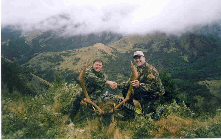 Red Stag hunting in New Zealand  www.guidedhuntingnewzealand.co.nz