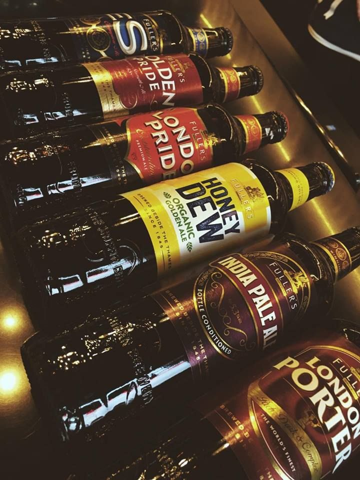 Fullers Beers  #fullers #beer #london #brewery #sklepballantines #honey #organic #porter #ale #gold #pride