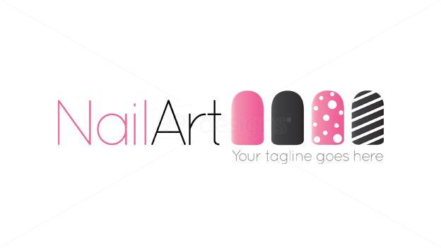 Nail art logo nails gallery nail art logo hd image prinsesfo Choice Image