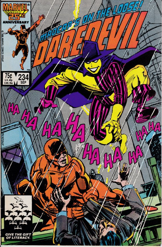 Daredevil 234  September1986 Issue  Marvel Comics  by ViewObscura