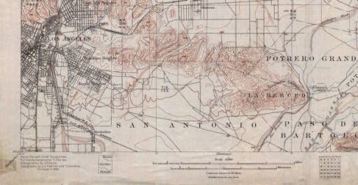 Pasadena :: California Historical Topographic Maps