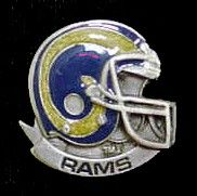"""Checkout our #LicensedGear products FREE SHIPPING + 10% OFF Coupon Code """"Official"""" St. Louis Rams Team Pin - Officially licensed NFL product Licensee: Siskiyou Buckle Classic lapel pin   Los Angeles Rams - Price: $15.00. Buy now at https://officiallylicensedgear.com/st-louis-rams-team-pin-sfp130"""