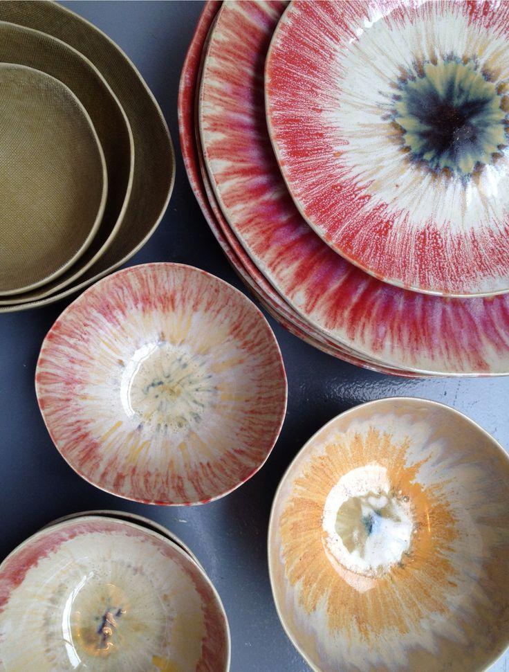 Ceramique #raku #handmade #ceramic at gachon pothier store in Paris