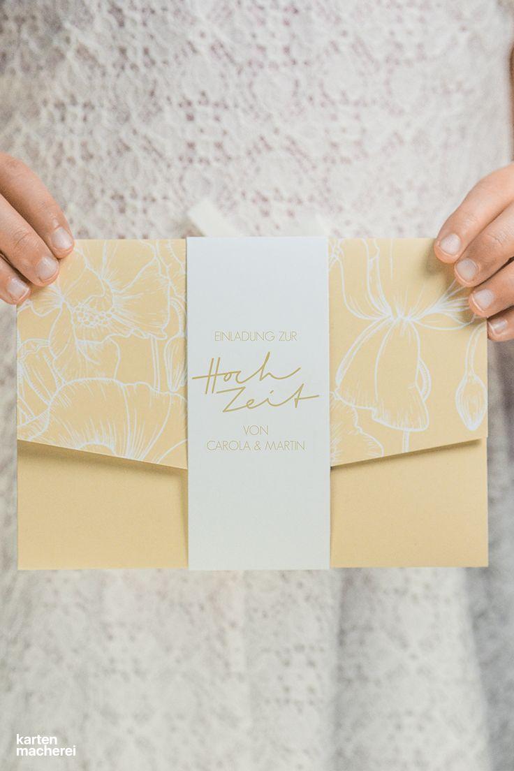 Dankeskarte Hochzeit Banderole