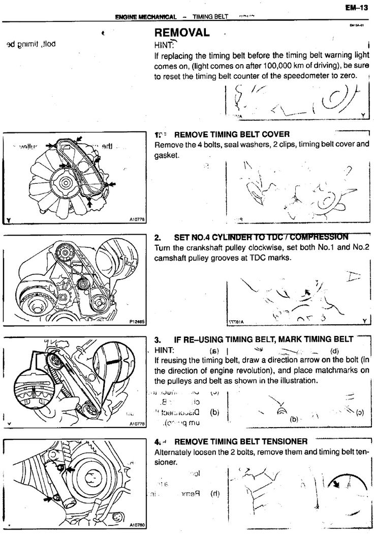 Service Manual for Toyota 1kzte Turbo Diesel Engine