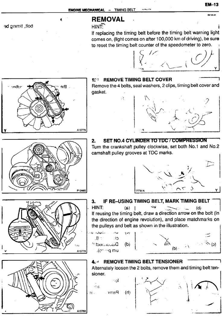 toyota 1kz te turbo diesel service manual