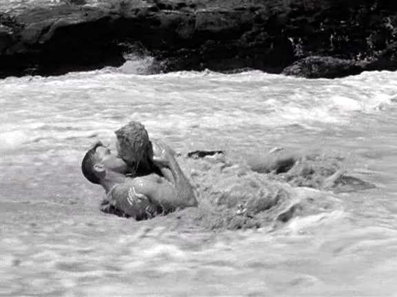 Some lovin' in the ocean.