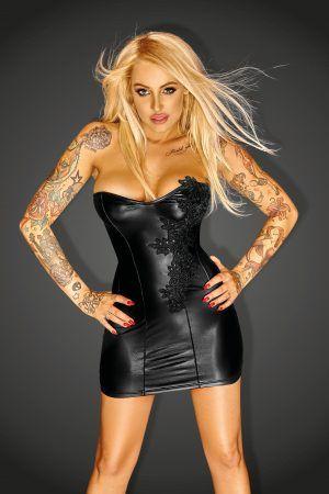 #Sexydress #wetlookdress #NoirHandmade