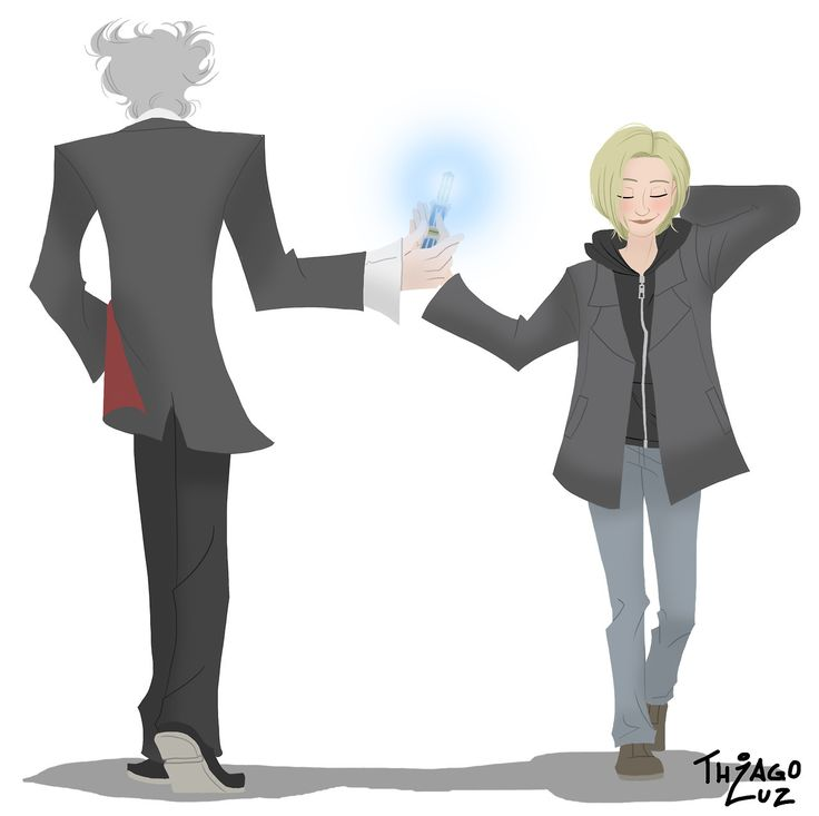 Oh cute...and feels. Goodbye Twelve, you will be missed; Hello Thirteen, you will be welcomed!