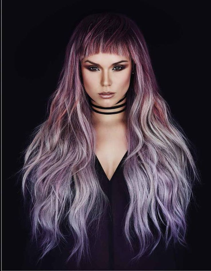 hair style pics best 25 blunt fringe ideas on blunt bob with 5839 | cf84bc179385adc980c8d5839c1acced shades of purple purple colors