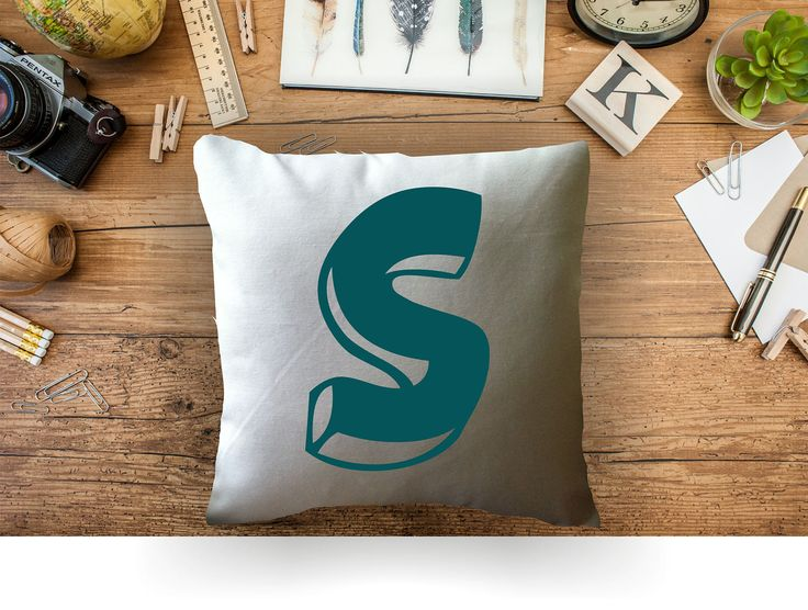 Monogram Throw Pillow Etsy : 759 best Etsy love images on Pinterest Cushion covers, Cushions and Decor pillows