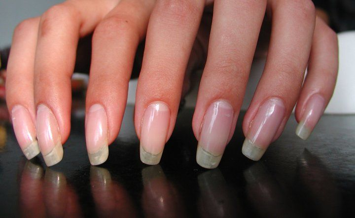 Real Asian Beauty: How To Make Nails Grow Stronger And Longer, wish mine were straight like this.